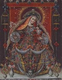 virgen del rosario by peruvian school-cuzco (18)