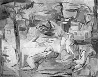 figuren im sonnenlicht by georg königstein