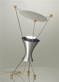 table lamp, model t-3-c by james harvey crate