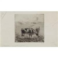 la vache by camille pissarro