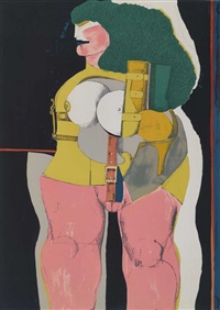 fetisch woman by richard lindner