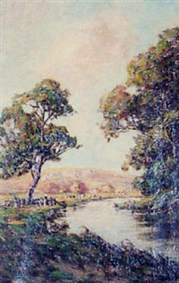 country landscape by harold goldthwaite