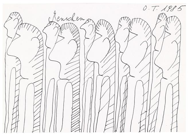menschen by oswald tschirtner