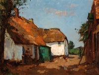 farmstead on the veluwe by louis soonius