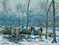 winter labor by harry w. newman