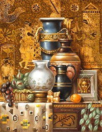 still life by theodoros manolidis