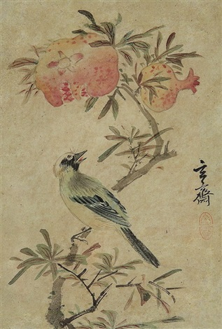 flower birds by sim sa jong