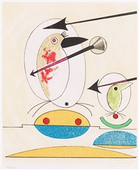 untitled, from: oiseaux en peril by max ernst