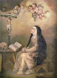 santa teresa de jesús by francisco meneses osorio