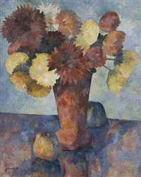flower still life by charles gottweiss
