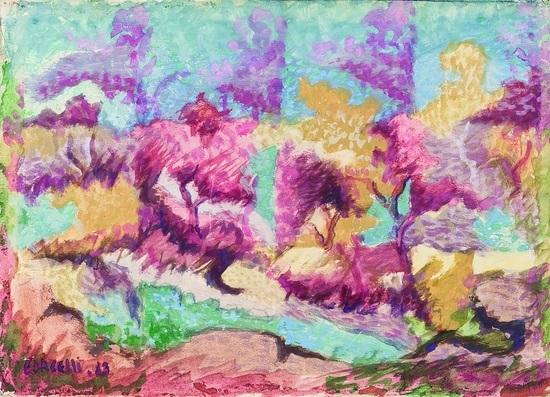 paesaggio by arturo ciacelli