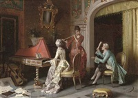 the music lesson by pio ricci