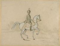 kavallerist by franz adam