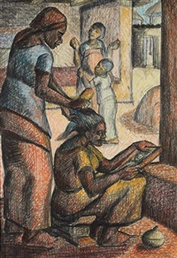 doing the hair by kofi antubam