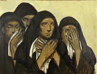 les pleureuses by jean georges cornelius