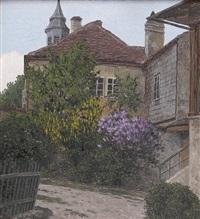 (österreich 1868-1959) beethoven-haus in heiligenstadt by karl (anton karl) zach