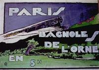 paris - bagnoles-de-l'orne en 5h by francois d' albignac