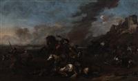 scène de bataille by jacques courtois