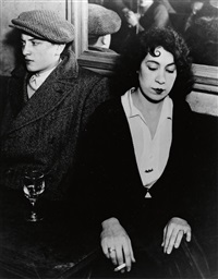 couple faché au bal des quatre-saisons by brassaï
