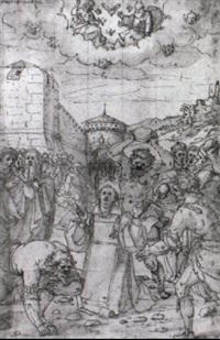 le martyre de saint etienne by avanzino nucci