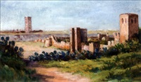 tour hassan, rabat by albert lepreux