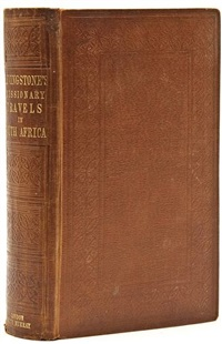 missionary travels and researches in south africa (bk w/23 works, 8vo) by david livingstone