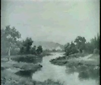 landscape with birds by frederick d. ogden