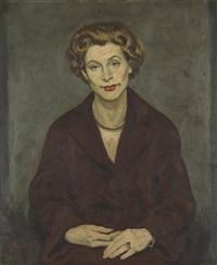 portrait de femme by jacob markiel