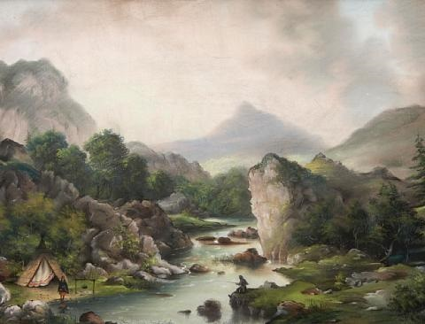 trout river trout lake by alfred worsley holdstock