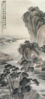落晖江沙图 by ma yuzhang