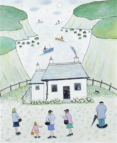 porthgwarra cove by joan gillchrest