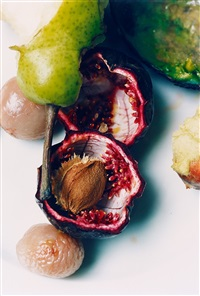pear, passion fruit & lychee by wolfgang tillmans