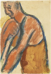 figura d'uomo by mario sironi