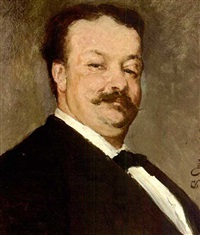 a portrait of david oyens by pierre (pieter) oyens