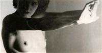 nu, bras allongés by roger parry