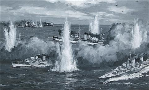 the central incident in the great mediterranean battle by william mcdowell
