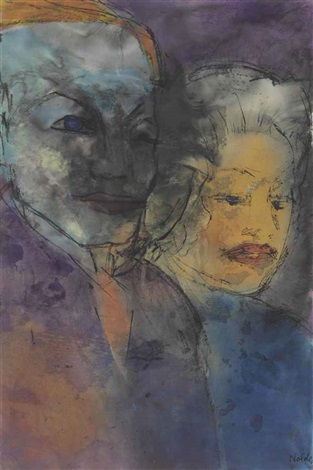 das paar phantasien by emil nolde