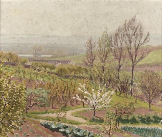 printemps dans la campagne by charles lacoste