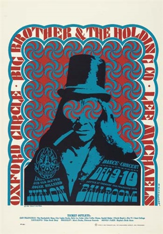 Concert Poster 1966 -Avalon Lee Michaels Big Brother /& the Holding Company