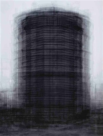 every bernd and hilla becher prison type gasholders by idris khan