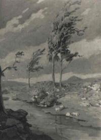 paisaje con viento by josé maría labrador arjona