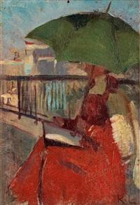 brita in paris, 1906. rue bassano by karin stackelberg