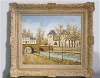 le vieux pont by louis peyrat