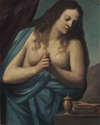 the penitent magdalen by mateo cerezo