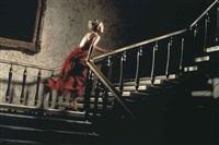 the girl in the red dress by david drebin