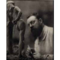 william merrit chase (from camera work xxiv); albert bartholome; henri matisse and
