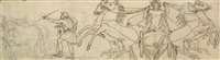 allégorie du char d'apollon by philippe joseph henri lemaire