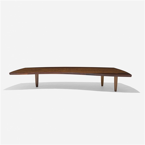 coffee table model 200 84w by george nakashima