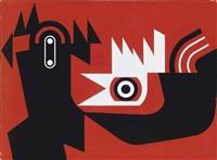 cockerel (from the villes et usines) by paul rouillier