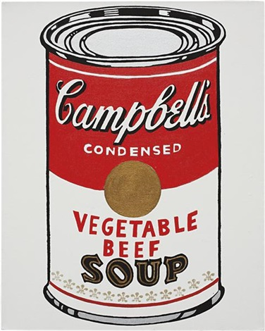 campbells soup can not warhol by mike bidlo